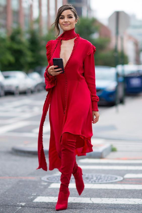 Red Boots: The 2018 Biggest Trend That Goes With Everything! – The Fashion Tag Blog