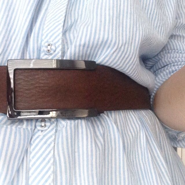 Ritore Chocolate Brown Leather Belt THOR - http://www.ritore.com/Thor-chocolate-leather-adjustable-belt?tracking=54eb5d17e00f2