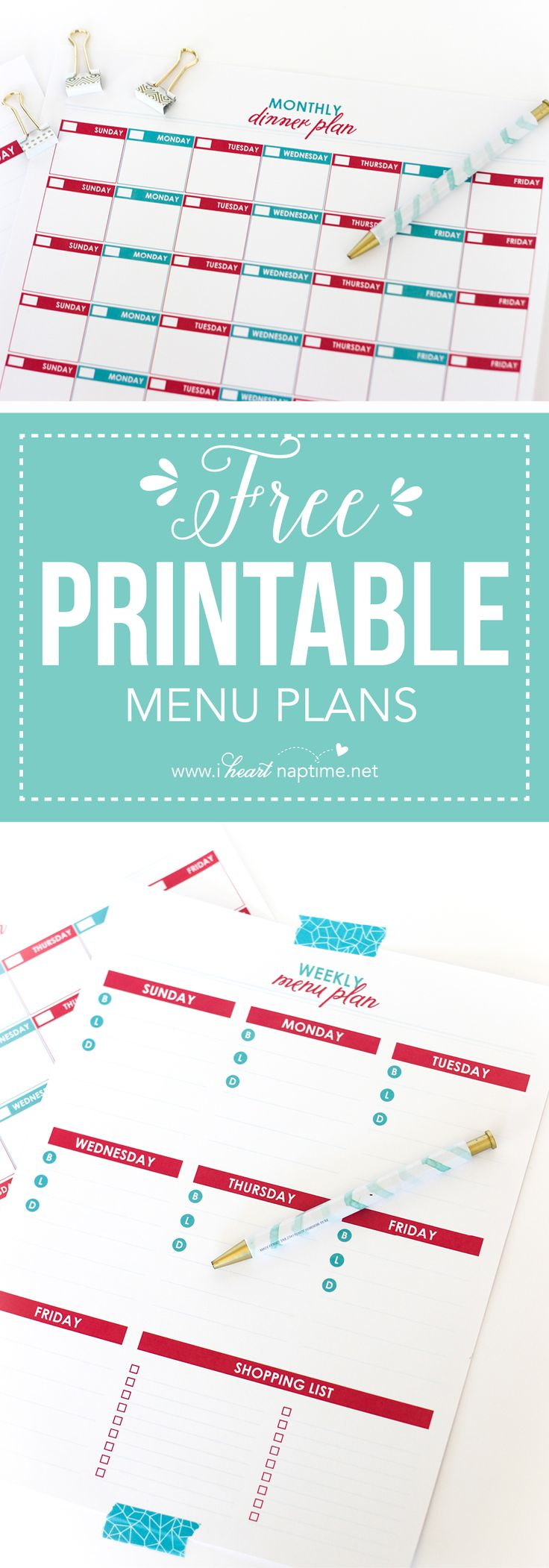 154 best Best of Meal Planning images on Pinterest | Clean eating ...