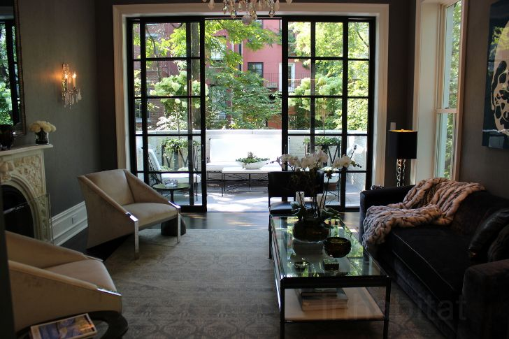 House Tour: Historic Chelsea Townhouse Renovated with Multiple...