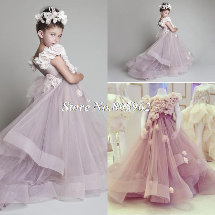 101 best flower girl dresses images on Pinterest | Bridesmaid gowns ...