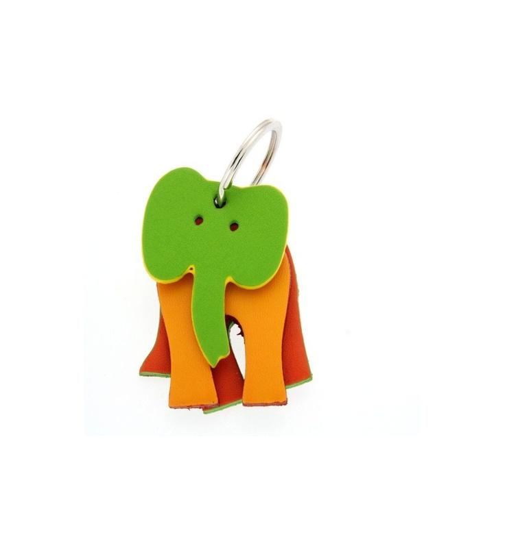 GENUINE MYWALIT Keyrings Elephant Key Ring Female Multicolor - 908-999b, $20