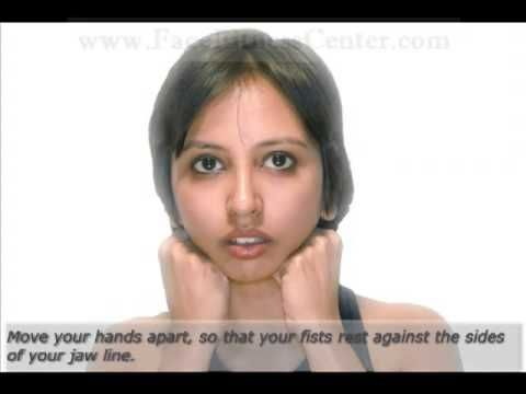Face Exercises To Lose Chin Fat - How to Lose Face Fat, Double Chin and Chubby Cheeks