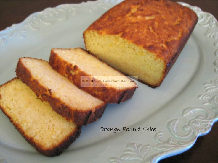 Low Carb Pound Cake Recipes: 318 Best Low-Carb Sweets Images On Pinterest