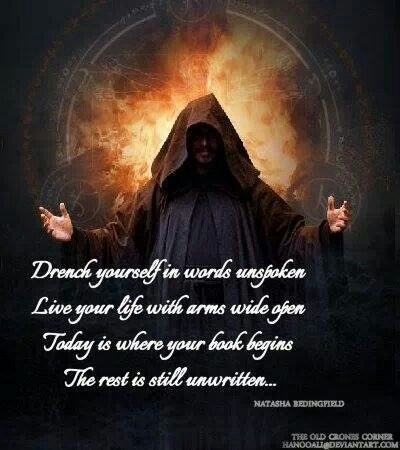 Believe in your own magick.