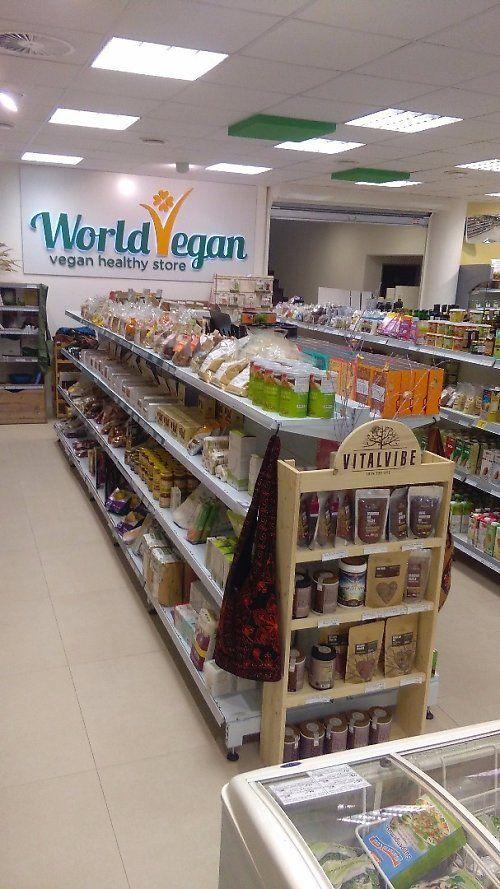 all Vegan supermarket - Prague