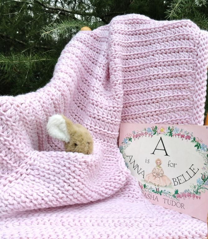 Looking for your next project? You're going to love Pink-a-Roo! Baby Blanket by designer Janet Brani.
