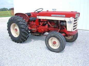 Used Tractors For Sale >> Used Farm Tractors For Sale Ih 460 Utility Tractor 2009 09 07