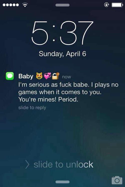 I would love to wake up to a text message like this♥♥