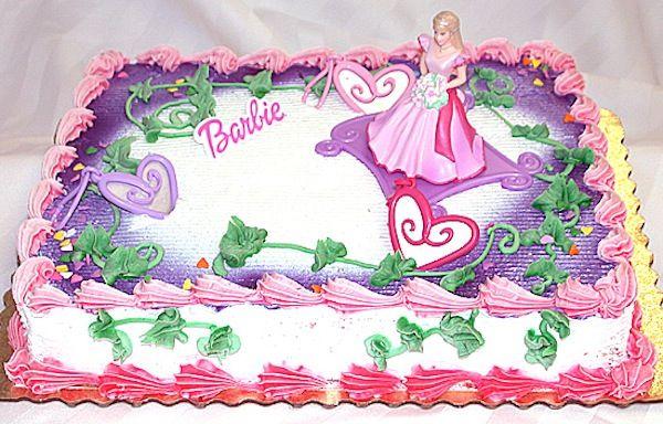 Barbie Ballerina Princess Theme Birthday Cakes Cupcakes