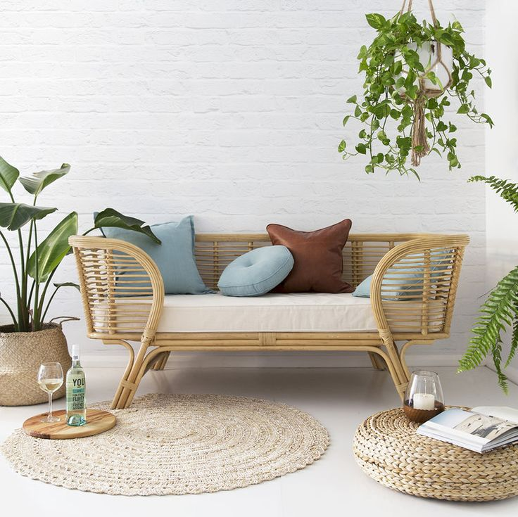 The 25 best rattan furniture ideas on pinterest rattan for Difference between rattan and wicker furniture