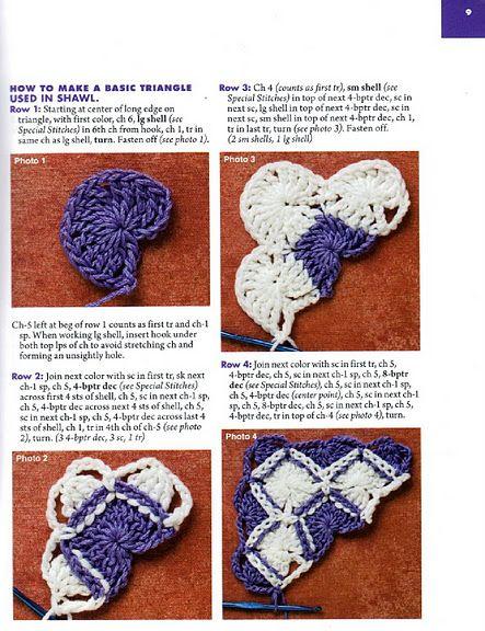 crochet tutorial, this looks like entrelac to me. ~ Lee Ann (Crochetgottalove.blogspot.com)