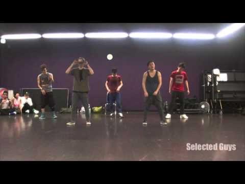 """Thrift Shop"" and ""Treasure"" - @AllegraGong Hip Hop Class Choreography"