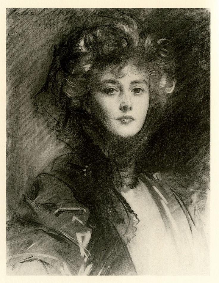 John Singer Sargent (1856-1925) Lady Helen, Later Viscountess d'Abernon