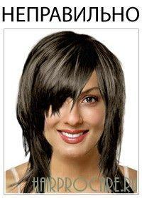 Причёска для овального лица