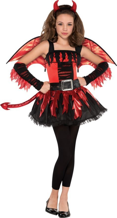 Girls Daredevil Costume - Party City