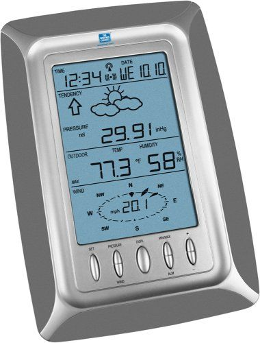 la crosse technology weather channel ws 2308twc professional weather station sensitive wireless weather station from