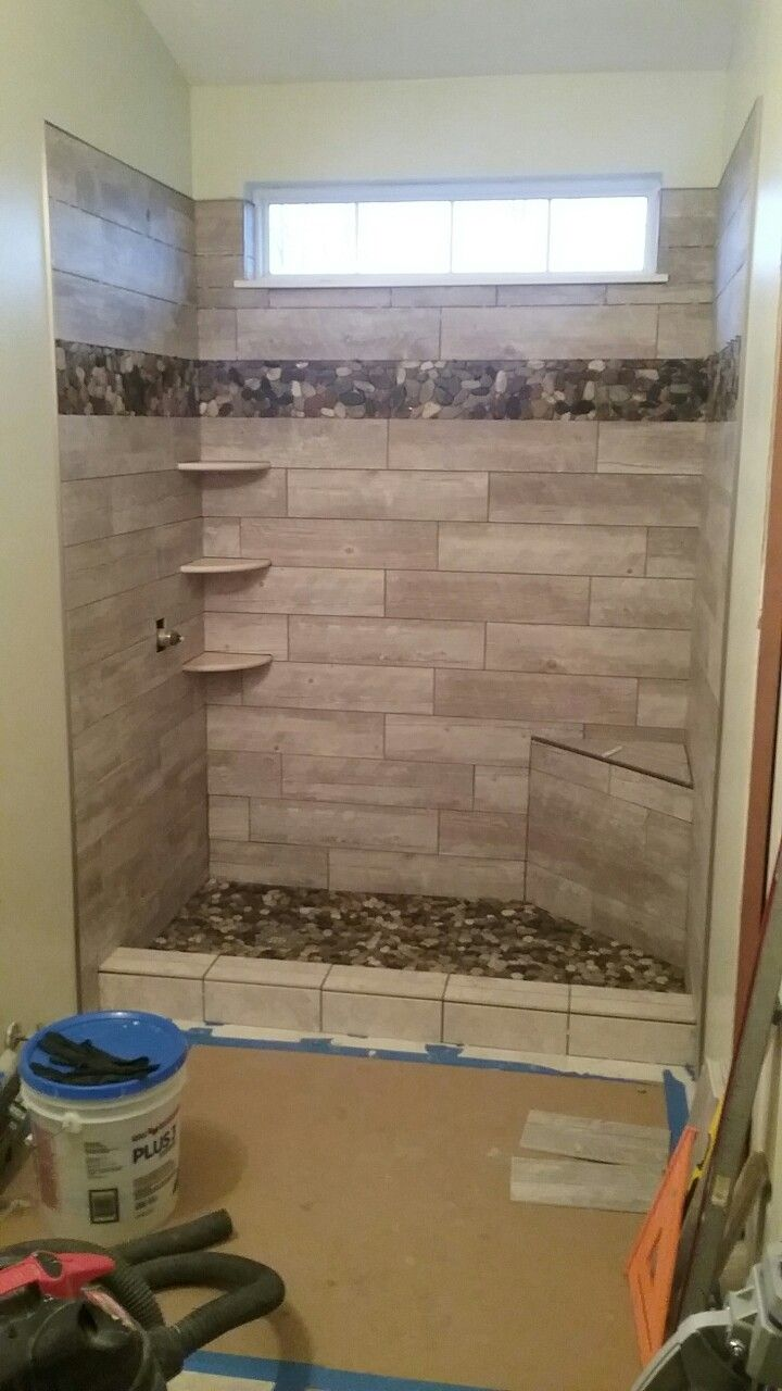 17 Best Ideas About Stone Shower Floor On Pinterest
