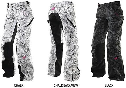 Fox racing dakota womens pants... love the design