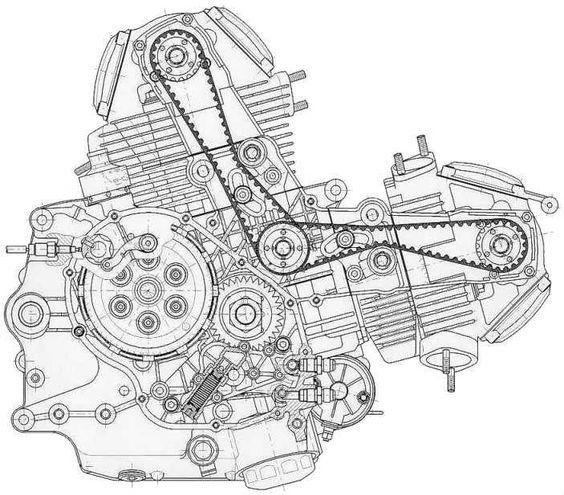 core de moto  ducati monster 600