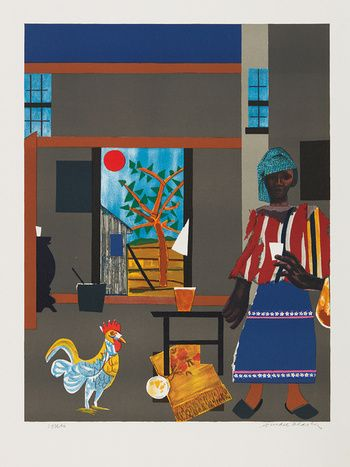 Romare Bearden, Morning of the Rooster