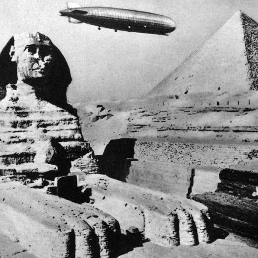 Zeppelin over the Pyramids: Airship, History Timeline, Pyramid 1931, Stuff, 1930S Pulp, Circuit 1931Cairografzeppelin, Vintage Photography, History Remember, Egypt