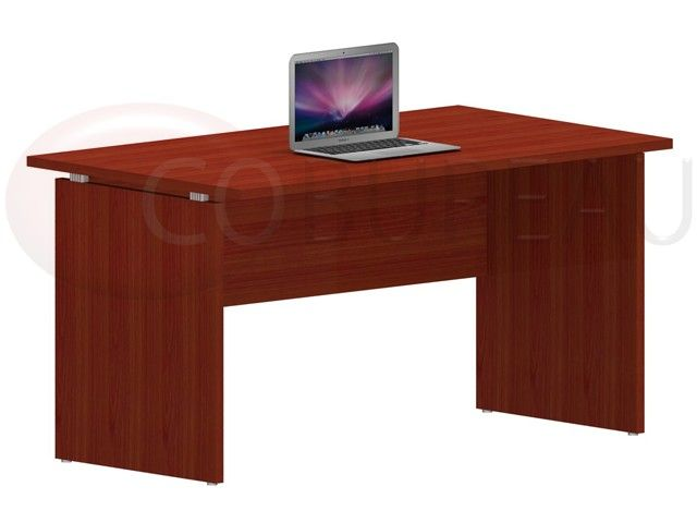acheter un bureau kamos avec plateau droit 140 cm. Black Bedroom Furniture Sets. Home Design Ideas