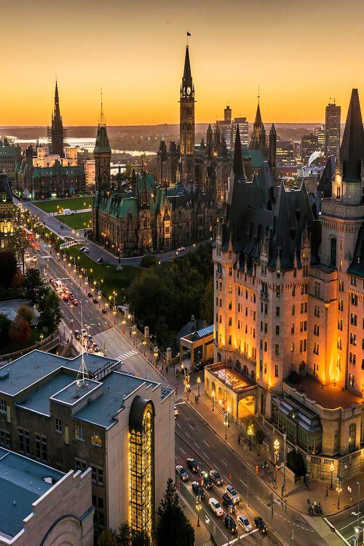Canada's capital is a compact, clean, cleverly planned center of culture and politics and a destination for every season. Start downtown at the architecturally stunning National Gallery of Canada, and don't miss the Canadian Museum of Nature and the Canada Aviation and Space Museum.| Ottawa
