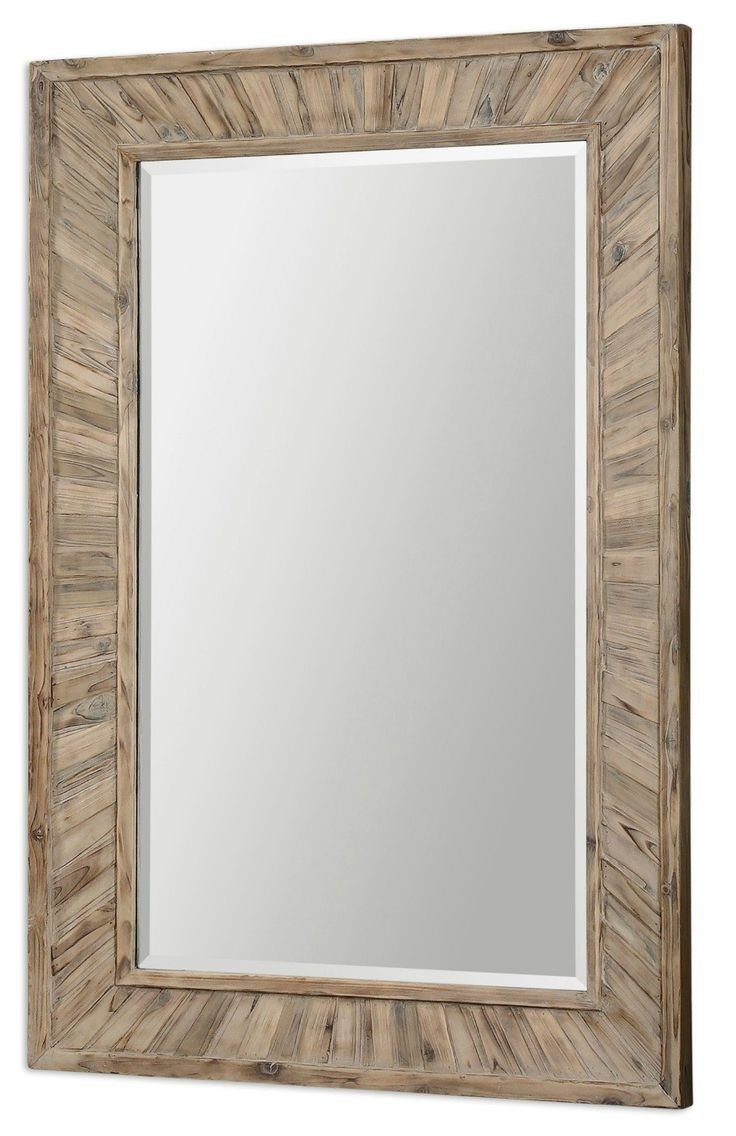 100 best mirrors for beach homes images on pinterest birches jotham driftwood bleached wood mirror amipublicfo Choice Image