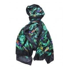 Laura Orchant New Leaf Modal Cashmere in Green