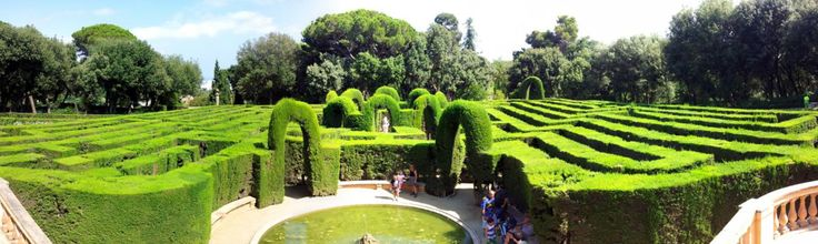#TheLabyrinthPark in #Horta (Parc de Labirint d'Horta)      The Labyrinth Park is the oldest #park in #Barcelona and since it's located outside of the tourist radius, it's something of an undiscovered treasure. The park is located in the district of Horta in the north part of the city. To maintain the park's beauty, a maximum of only 750 persons are allowed to enter each day.