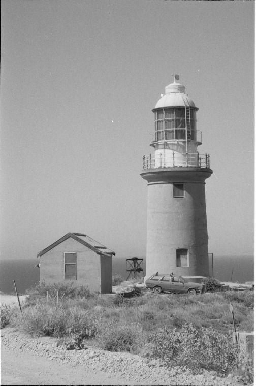 129199PD: Vlamingh Head Lighthouse and store, Exmouth, 1993.  http://encore.slwa.wa.gov.au/iii/encore/record/C__Rb3292681__Slighthouse__Ff%3Afacetmediatype%3Av%3Av%3APhotograph%3A%3A__P0%2C18__Orightresult__U__X6?lang=eng&suite=def