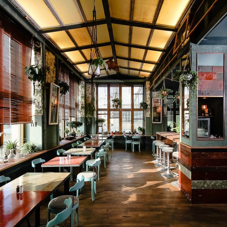 Das 'House of Small Wonder' in Berlin ist ein Ableger des gleichnamigen  Cafés in New York. Ein gemütlicher Ort mit Kaffee, Tee und Snacks.