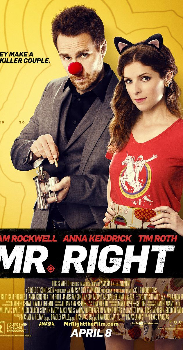 "Directed by Paco Cabezas.  With Anna Kendrick, Sam Rockwell, Tim Roth, James Ransone. A girl falls for the ""perfect"" guy, who happens to have a very fatal flaw: he's a hitman on the run from the crime cartels who employ him."