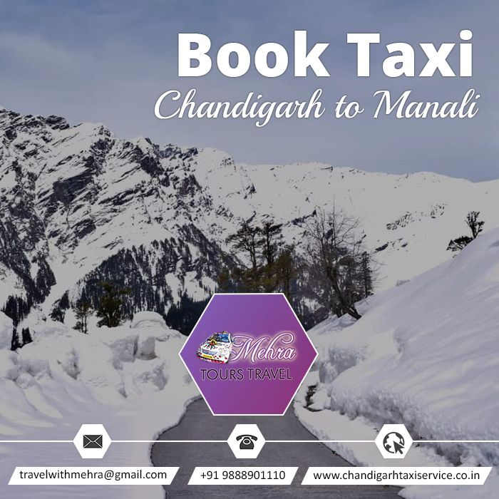 Book Taxi Chandigarh To Manali  #Travel #Tour #Taxi #Chandigarh #Manali