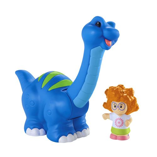 Toddler Toys People : Little people brontosaurus and sofie fisher price