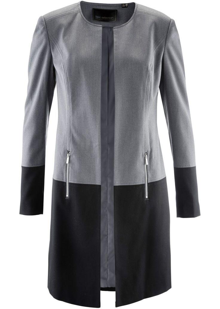 Удлиненный блейзер Модный блочный дизайн • 749.0 грн • bonprix