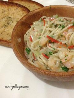 The Italian job... | Gluten free chili, Prawn pasta, Recipes