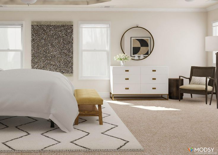 Modsy Customer Review – Rustic Chic bedroom design