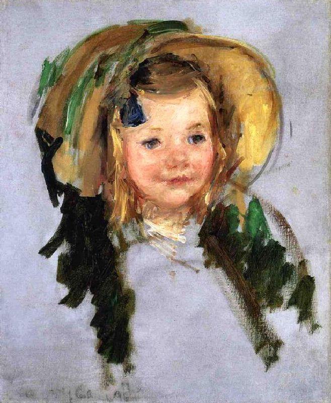 Sara In A Bonnet