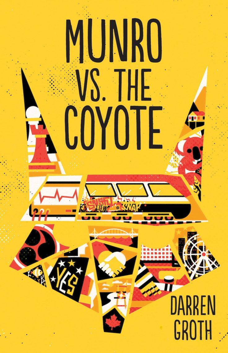 Munro is caught in the small cruel space between loss and letting go.  MUNRO VS. THE COYOTE by Darren Groth