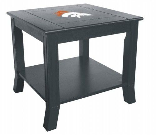 Denver Broncos Living Room Office End Side Table