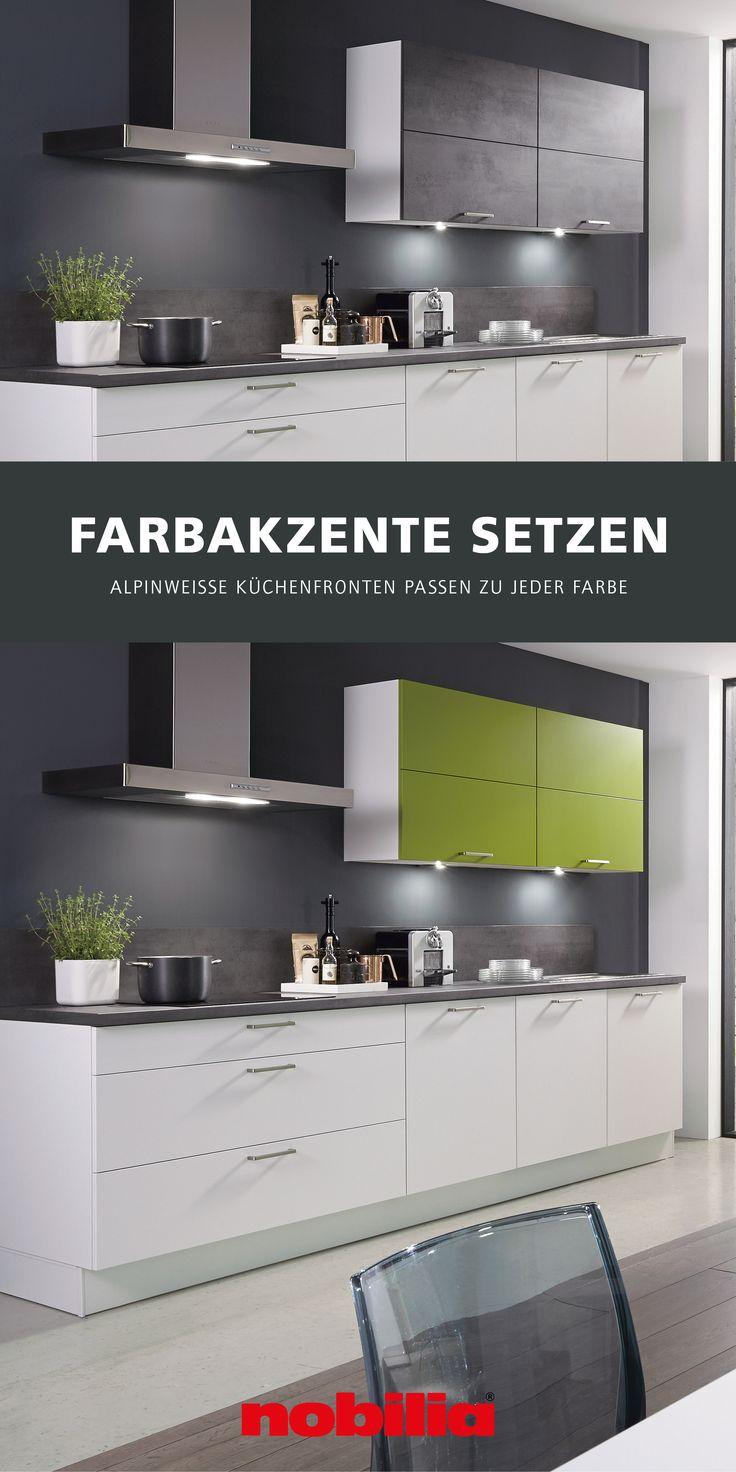 Individuelle Farbkombinationen In Der Kuche In 2020 Nobilia Kuchen Nobilia Kuchen Mobel