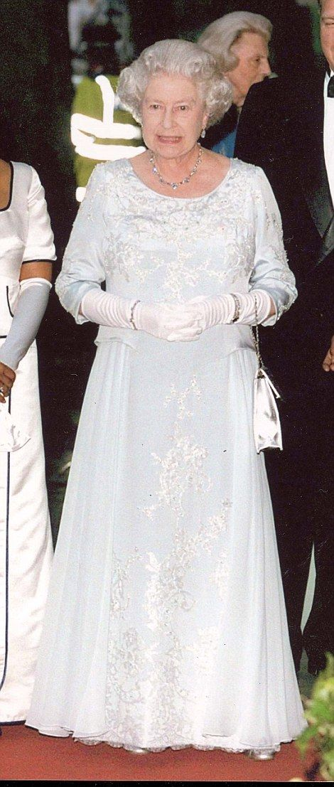 South African State Banquet in London, Britain, 14th Jun 2001...
