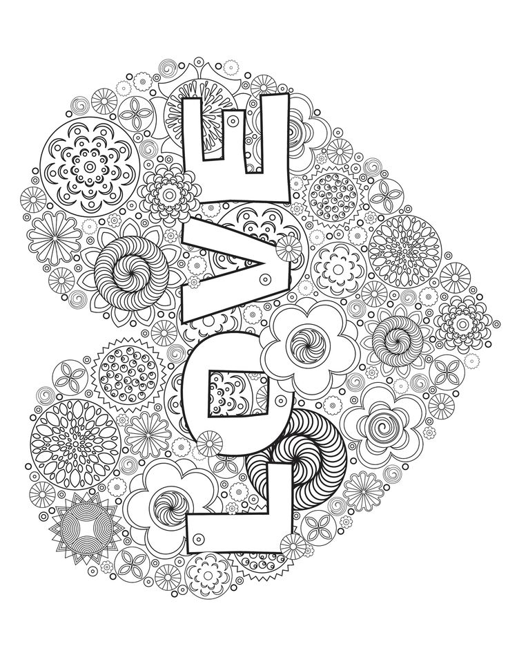 140 best images about hearts to color on pinterest for Abstract heart coloring pages