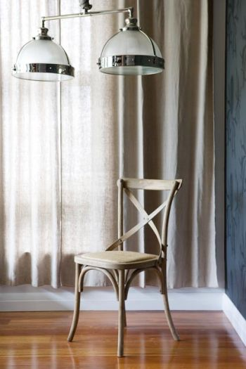 Collections By Kate - French Provincial Style Bistro Crossback Dining Chair