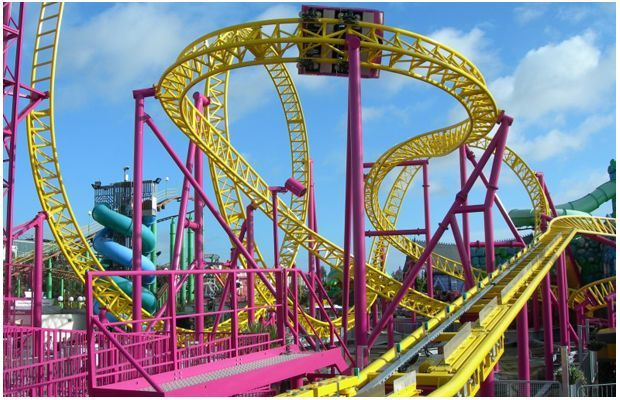 top fifty rollercoasters in the world