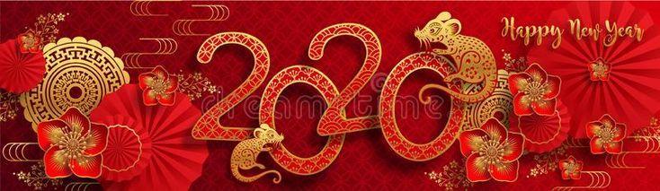 """Résultat de recherche d'images pour """"carte nouvel an chinois 2020"""""""