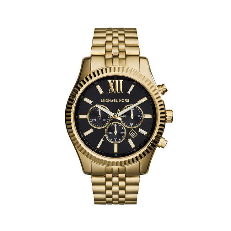 Michael Kors Michael Kors Armbanduhr – Gents Lexington Watch Gold – in gold – Armbanduhr für Damen