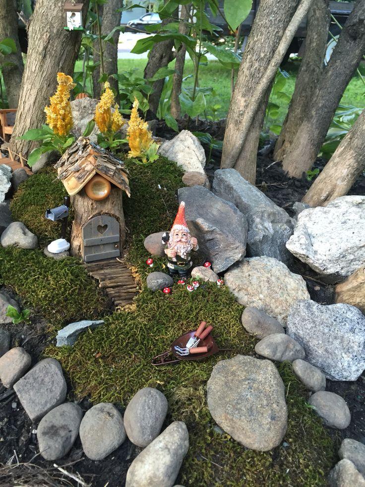 My first fairy garden!